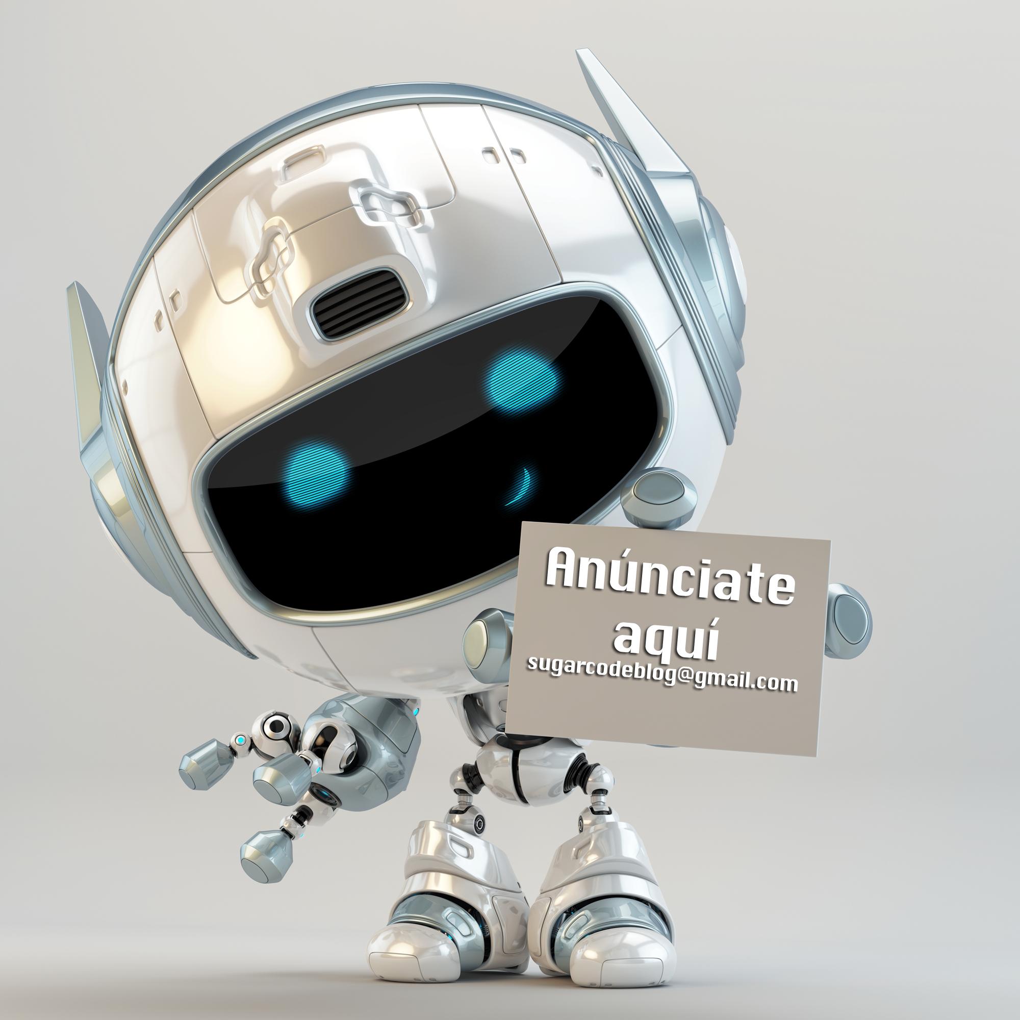 Anúnciate en sugarcode.es - Blog de tecnología para niños