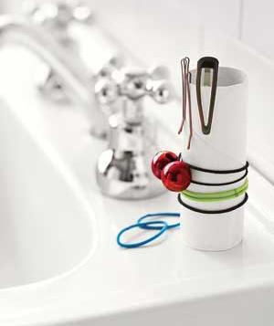 Ordenar gomas del pelo - DIY - Reutilizar cosas