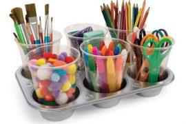 Organizar pinturas niños