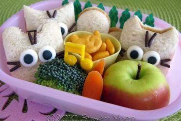 Sanwiches originales para fiestas infantiles