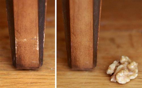 Eliminar rayaduras en los muebles