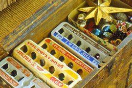 Guardar bolas del árbol de Navidad