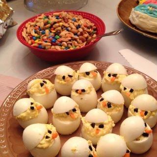 Recetas para niños - Huevos cocidos