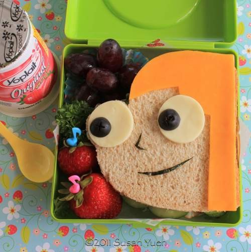 Sandwiches Phineas y Ferb - Candance
