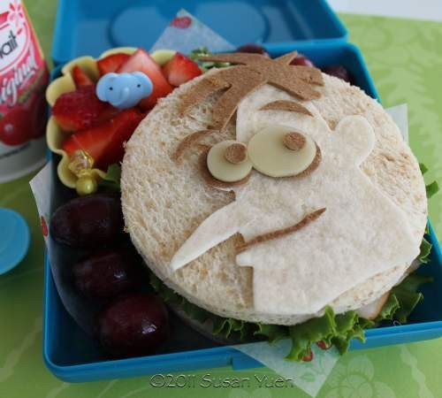 Sandwiches Phineas y Ferb