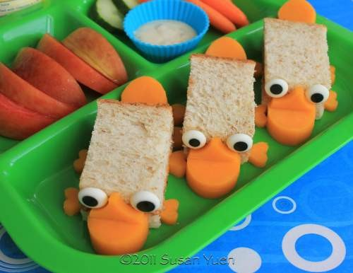 Sandwiches Phineas y Ferb Perry