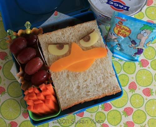 Sandwich Perry Ornitorrinco - Phineas y Ferb