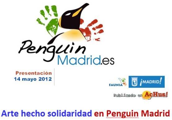 PENGUIN MADRID - Pingüinos solidarios Faunia