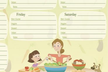 Planificador menú