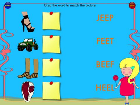 App Para niños - iPad iPhone - Sonidos - letras -vocales