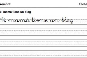 Fichas Infantiles Escribir