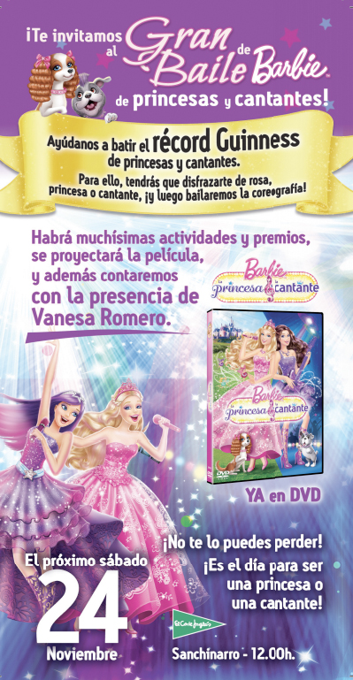 Evento Barbie