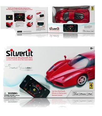 Coche teledirigido Ferrari para iPhone
