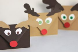 Sobres Navidad - Manualidades niños