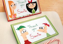 Tarjetas Navideñas Christmas Candace e isabella