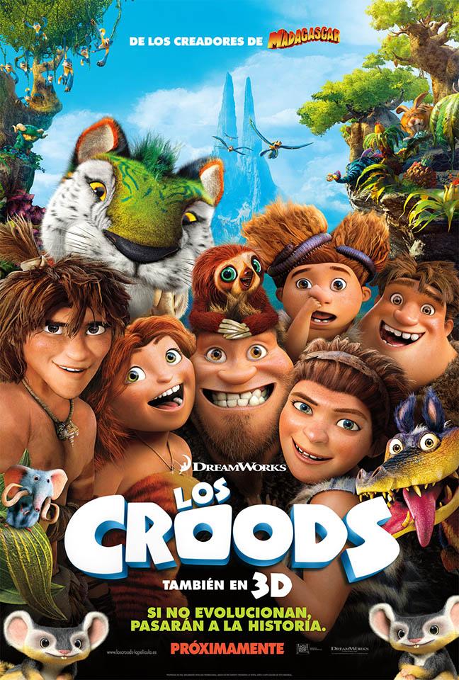 Los Croods - Cine Niños
