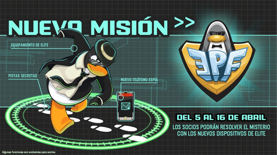 Club Penguin - EPF Mision