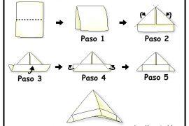 Cómo hacer gorro de papel