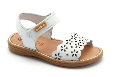 Sandalias Niñas Blancas