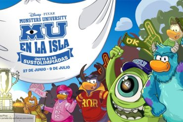 CLUB PENGUIN MU (MONSTRUOS UNIVERSITY)