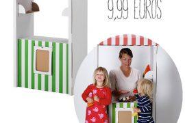 Tienda cartón IKEA niños