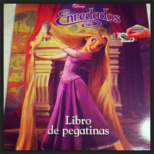Libro pegatinas Rapunzel