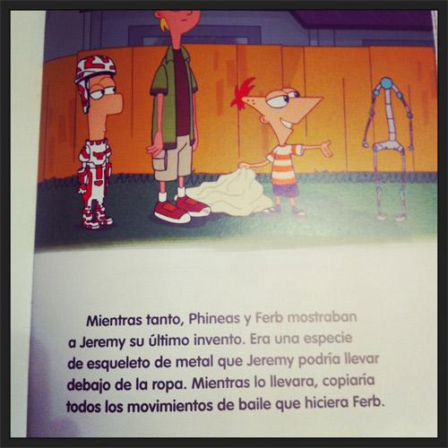 Libros Niños Phineas y Ferb