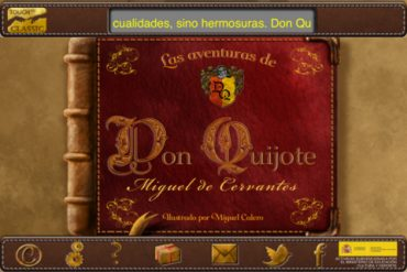 Don quijote Niños iPad y iPhone