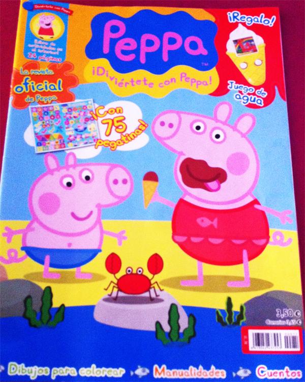REVISTAS INFANTILES PEPPA PIG