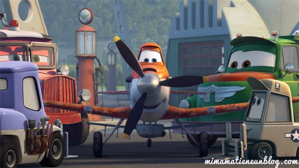 Aviones, la nueva película de Disney