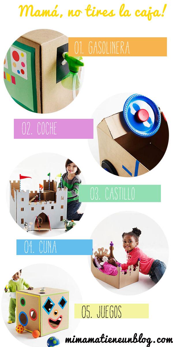 Ideas para jugar con cajas