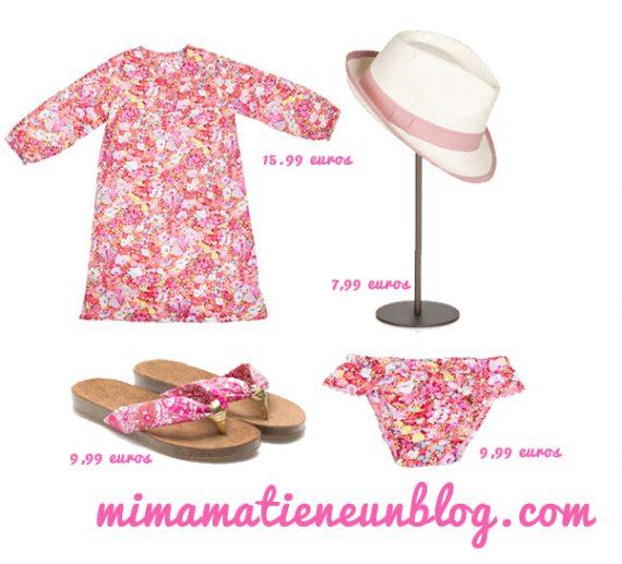 Look Playa Niña Zara Kids