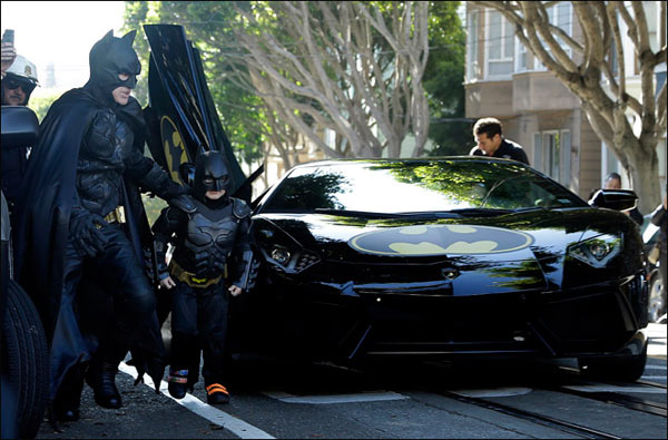 BATKID SAN FRANCISCO MAKE A WISH