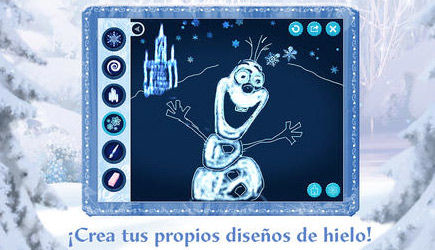 Frozen Disney APP IPAD