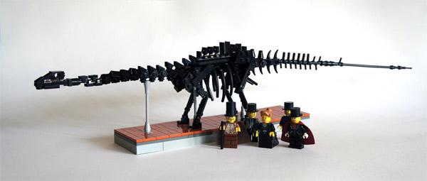LEGO trae los dinosaurios a Madrid