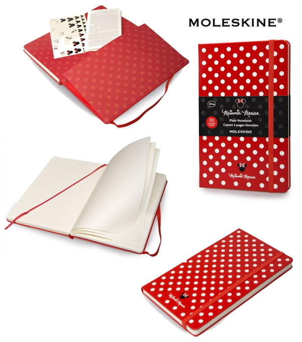MOLESKINE AGENDA MINNIE MOUSE