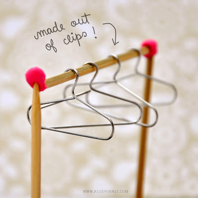 DIY Perchas Clips