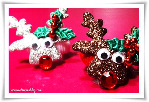Accesorios pelo Navidad Renos