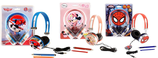 AURICULARES MINNIE CARS
