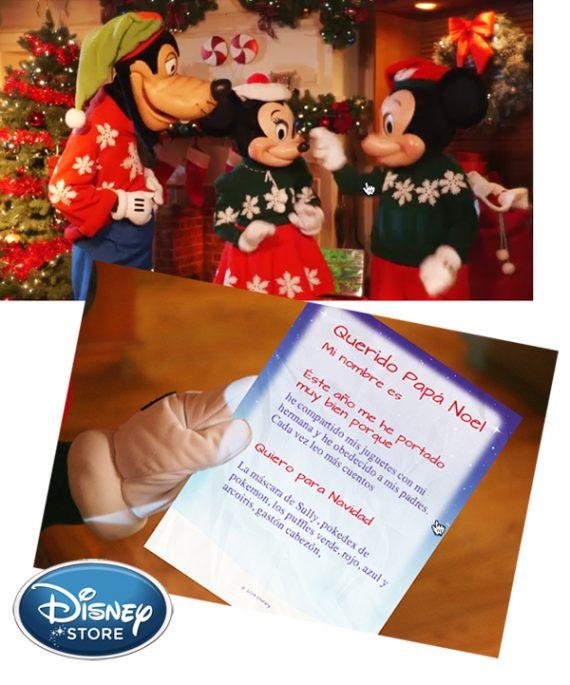 Disney Store Navidad