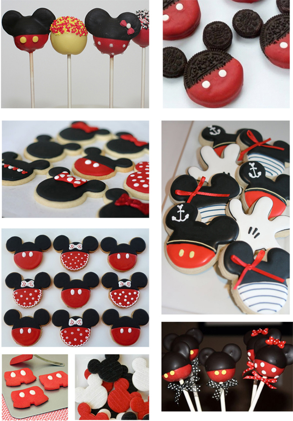 Galletas Mickey Minnie