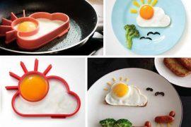 Molde Huevos Fritos sol y nubes
