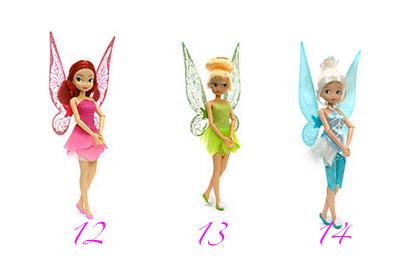 Muñecas Campanilla Disney