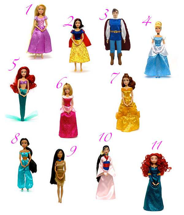 Muñecas Disney precio