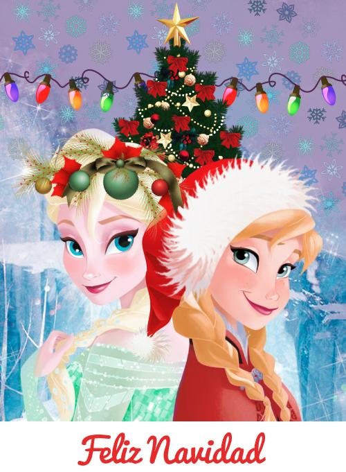 Feliz navidad frozen