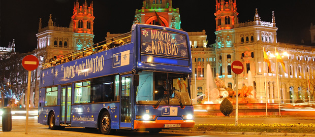 Autobus Madrid Navidad NAVIBUS