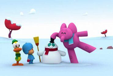 Planes con niños: Pocoyo