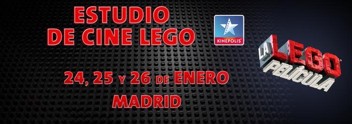 LEGO ESTUDIO CINE KINEPOLIS