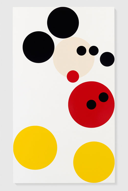 MICKEY MOUSE ARTIST DAMIEN HIRST