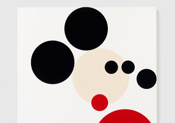 MICKEY MOUSE ARTIST DAMIEN HIRST DISNEY